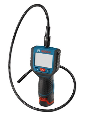 Bosch 0601241004 GOS 10,8 V-LI Professional Akkuinspektionskamera im Karton ohne Akkus und ohne Lader - 1