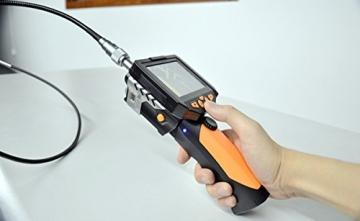 Crazyfire ® 3,5 Zoll LCD-Monitor-Endoskop-Kamera (2.01 meters/Probe Kabel 2 m, Durchmesser: 8,2 mm Endoskop mit 1 CREE LED-Taschenlampe, 0,3 MP Cmos-Kamera - 7