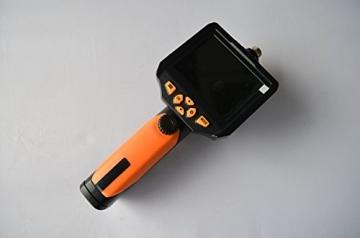Crazyfire ® 3,5 Zoll LCD-Monitor-Endoskop-Kamera (2.01 meters/Probe Kabel 2 m, Durchmesser: 8,2 mm Endoskop mit 1 CREE LED-Taschenlampe, 0,3 MP Cmos-Kamera - 8