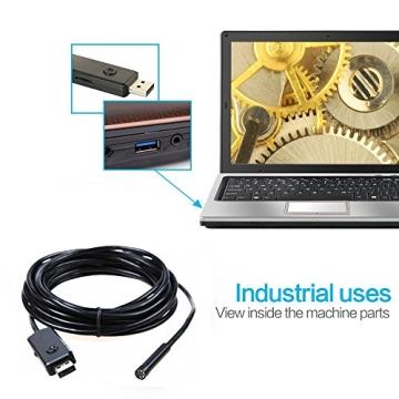 Depstech 5M USB Wasserdichte Digital Inspektionskamera