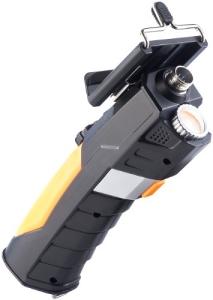 Somikon WiFi HD 720p Endoskop-Kamera mit Smartphone-Halterung, 1 m - 2