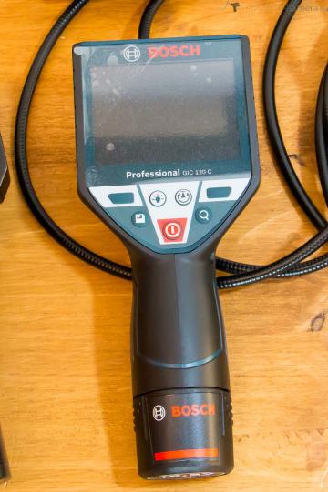 Bosch GIC 120 C Akku Inspektionskamera