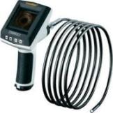 Endoskop Laserliner 082.110A Sonden-Ø: 9 mm Sonden-Länge: 10 m Fokussierung, LED-Beleuchtung, Autoabschaltung, Wechselbare Kamerasonde