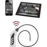 Endoskop VOLTCRAFT BS-20 WIFI Sonden-Ø: 8 mm Sonden-Länge: 85 cm LED-Beleuchtung, Fokussierung, Bild-Funktion, Video-Funktion, WiFi